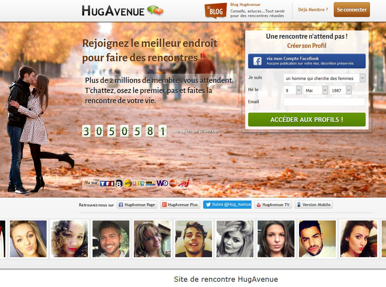 Site de rencontres hugavenue